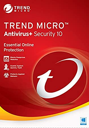 Trend Micro Antivirus+ 10 (3-Users) 2017