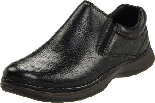 Hush Puppies Men's Lunar II Slip-On,Black,11.5 M -