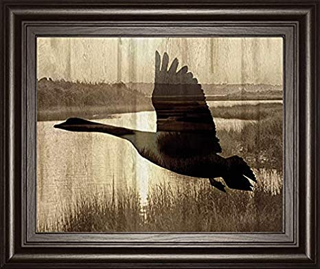 Classy Art Journey By Tania Bello Goose Framed Print Wall Art Black Posters Prints