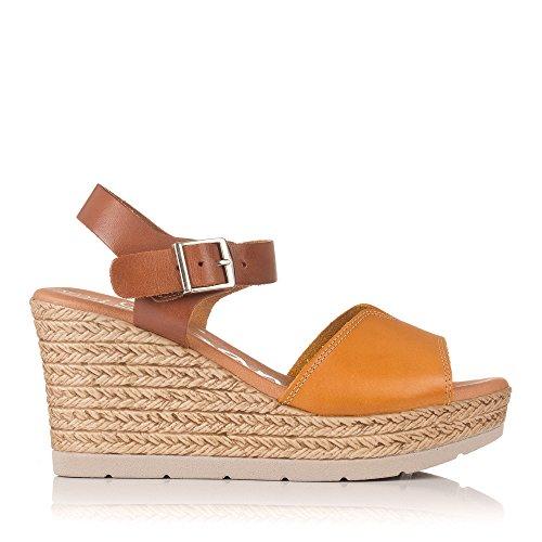 Mostaza Alta My 3904 Sandals Oh Mujer Sandalia Cuña Aw8AUq