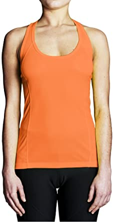 ded0738e09b56f Scull and Sweep Women s Regatta Hi Vis Racerback Training Tank Top at Amazon  Women s Clothing store