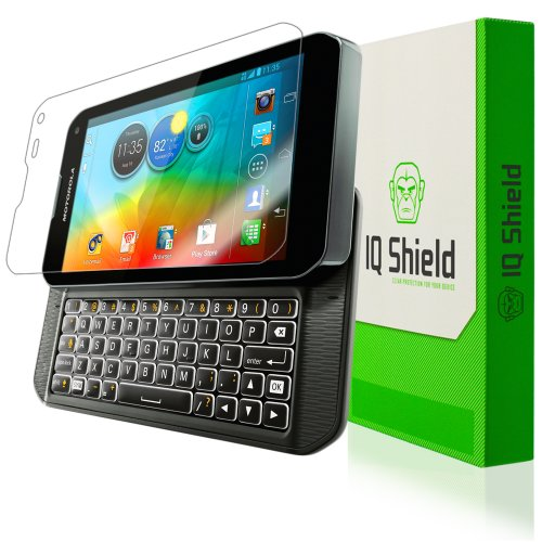 IQ Shield LiQuidSkin Full Coverage Screen Protector for Motorola Photon Q 4G LTE HD Clear Anti-Bubble Film