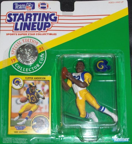 Flipper Anderson 1991 Starting Lineup [Toy] by Starting Line Up