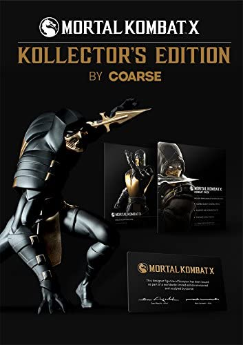 Mortal Kombat X Kollectors Edition Estatua Scorpion 28 cm: Amazon ...