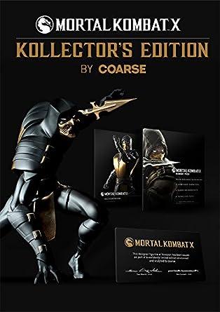 Mortal Kombat X Kollectors Edition Estatua Scorpion 28 cm: Amazon.es: Videojuegos