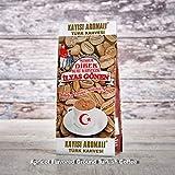 ilyas Gonen Dibek Ground Turkish Coffee/Plain Dibek and 19 Different Flavored (100g / 3,5oz) (Apricot Flavored Ground Turkish Coffee) -  Dibek Kuru Kahve