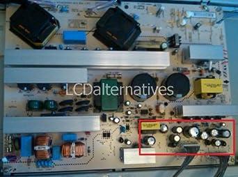 Repair Kit, LG 47LC7DF-UK, LCD Monitor, Capacitors, Not the Entire Board