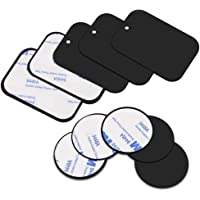 CHOUREN Universal Metal Plate Disk for Magnetic Phone Car Mount Holder Cradle iron Sticker with Adhesive (Color : 4Pc…