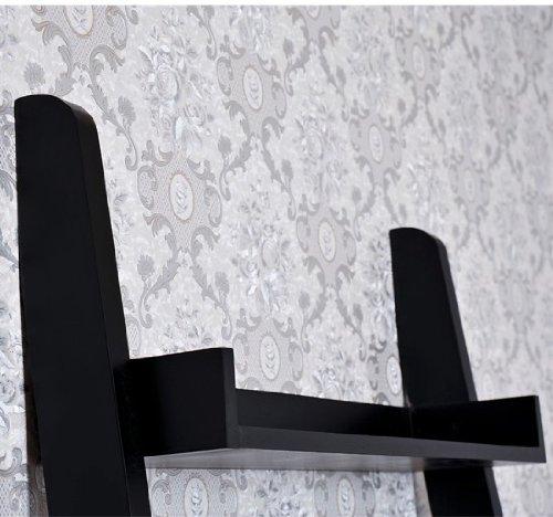 Homcom 72 Quot 5 Tier Wood Leaning Ladder Display Shelf