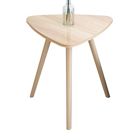 new style 2a440 6cdb3 HANSHAN Side Table Side Table, Small Round Triangle Corner ...