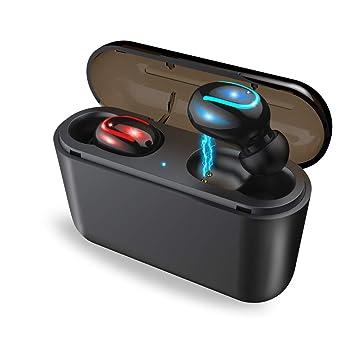 【タイムセール】【进化版Bluetooth5.0+EDR搭載 3600mAh 120時間連続駆動】 Bluetooth イヤホン IPX7防水 Hi-Fi 高音質 3Dステレオサウンド 完全 ワイヤレス イヤホン マイク内蔵 両耳通話 スポーツイヤホン 大容量充電式収納ケース付き 自動ペアリング マイク付き 両耳 左右分離型 人体学の設計 音量調整可能 1回の充電で4~6時間のご使用 Siri対応 iPhone Android対応
