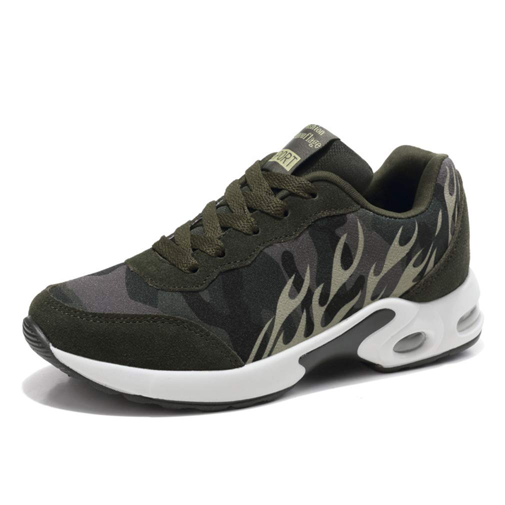 YAN Damensportschuhe Spring Fall Suede Breathable Outdoor Lace Up Sportschuhe Mode Casual Couple Schuhe,A,42