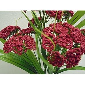 """Queen Anne's Lace Bush 10 Artificial Flowers 18"""" Bouquet 980 24"""