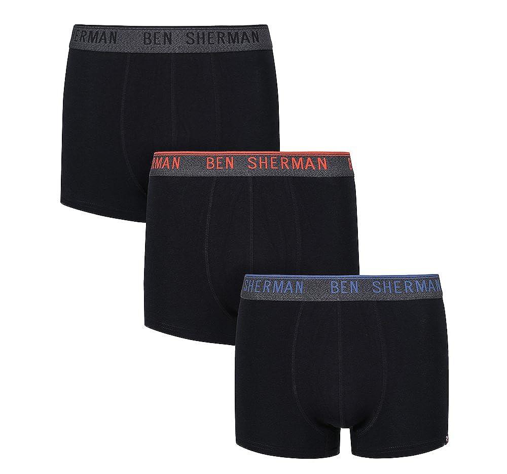 Ben Sherman Men's Boxer Shorts (Pack of 3)