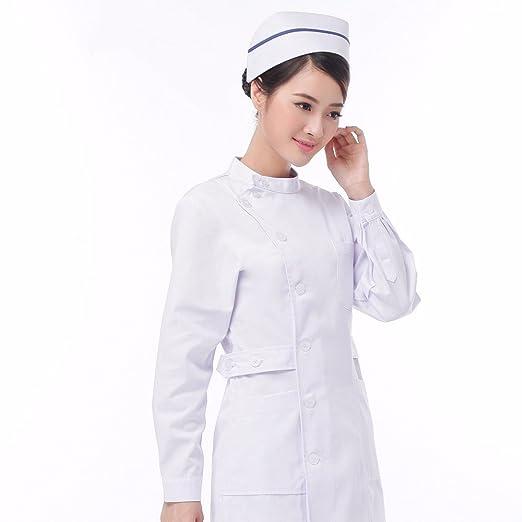 Xuanku Enfermera Doctor Wear Pink Collar Belleza Tienda De Ropa Ropa Care Medicine Farmacia: Amazon.es: Ropa y accesorios