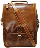 Leather Laptop Backpack for Men and Women - 13\
