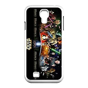 Designed Hard Case for Samsung Galaxy S4 I9500 Plastic Protective Case Cover with Star Wars _White 30306 WANGJING JINDA