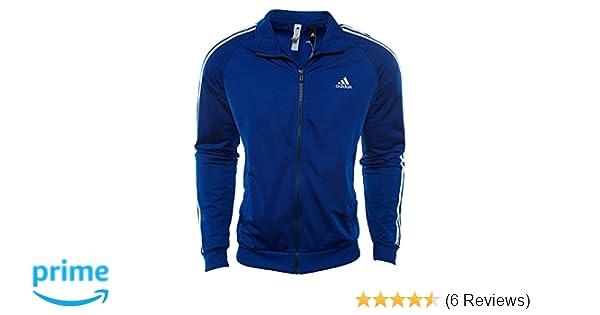 b4fe96cf561dc adidas Essentials 3S Tricot Track Jacket XL Collegiate Royal-White