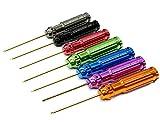 Integy RC Model Hop-ups C22346 Wrench Set Ti-Nitride Allen Hex, 7pcs