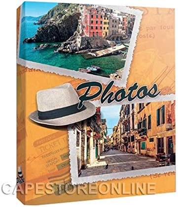 Aurora Store.it Album Fotografico Fantasia memo CD 300 Foto 12x18 13x19 13x18 cm portafoto Tasche Vari Modelli