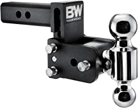 B&W TS10033B Tow and Stow adjustable hitch ball mount