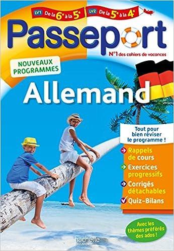 Amazon Fr Passeport Allemand De La 6e A La 5e Ou De La