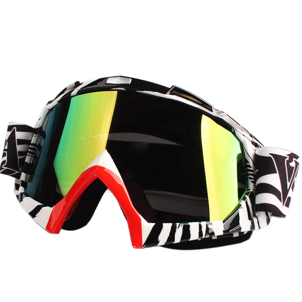 CALISTOUK Off Road Riding Motorcycle Bike Dirt Goggles Windproof Popular Fresh Novel Ql008-Color