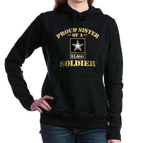 CafePress - Proud U.S. Army Sister Hooded Sweatshirt - Pullover Hoodie, Classic & Comfortable Hooded Sweatshirt (Army Sweatshirt Hooded Sister)