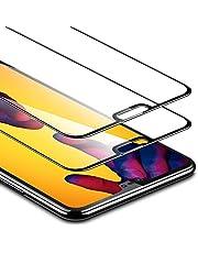 ESR Protector Pantalla para Huawei P20 Lite [2 Piezas] [Cobertura Completa] [Garantía de por Vida] Cristal Templado de 9H Dureza Resistente a Arañazos para Huawei P20 Lite