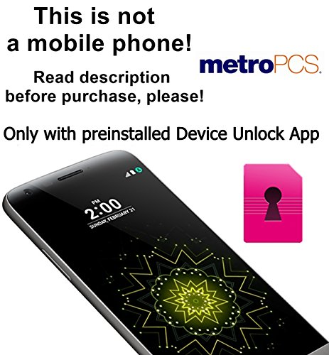 MetroPCS USA Factory Unlock Service for LG Mobile Phones with Device Unlock App - Almost All IMEI`s Supported - Feel the Freedom - Lifetime Warranty