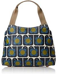 Love Birds Print Classic Zip Shoulder Bag
