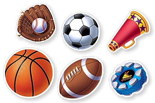 Creative Teaching Press Sports 6-Inch Designer Cut-Outs (CS91102)
