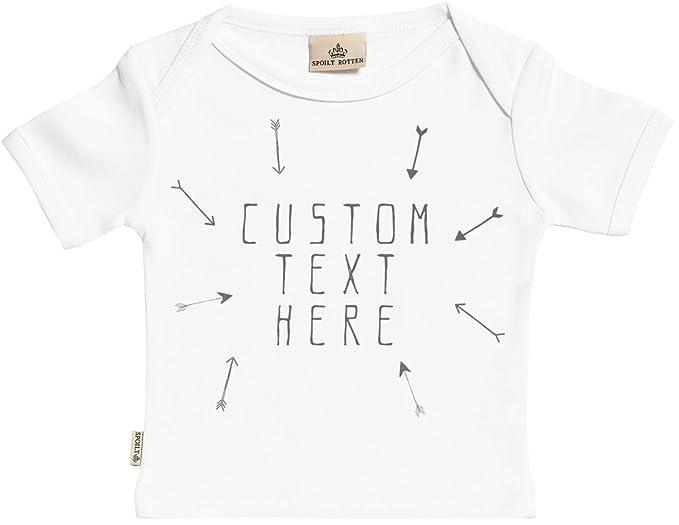 e3bc9eab9 Personalizados bebé Custom Arrows camisetas personalizados para bebé niño - camisetas  personalizados para bebé niña -