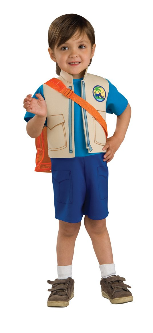 Amazon.com Nick Jr. Dora The Explorer Childu0027s Diego Costume with Backpack Small Toys u0026 Games  sc 1 st  Amazon.com & Amazon.com: Nick Jr. Dora The Explorer Childu0027s Diego Costume with ...