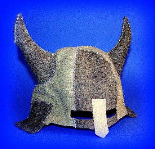 Finnish Accessories Sauna (Rushnichok Sauna hat, Russian banya, for Men, woomen, Wool, Felt, Finnish, Ukraine Viking Helmet Ukrainian Warrior Berserk cosplayers Sauna Accessories)