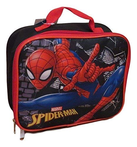 (Marvel Spider-Man Web Warrior Insulated Lunch Box - Lunch Bag)