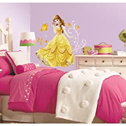 RoomMates RMK2551GM Disney Princess-Bell Peel and Stick Giant Wall Decals