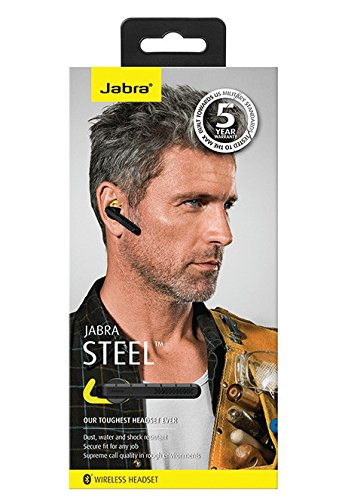 Jabra Steel Ruggedized Bluetooth Headset (US Version) - Black by Jabra (Image #6)