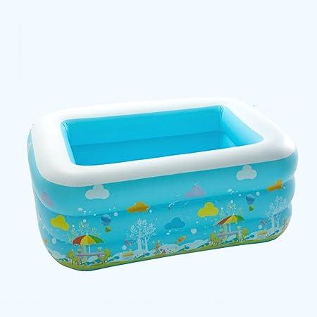LYM & bañera Plegable Bañera Inflable Bañera de plástico Bañera ...