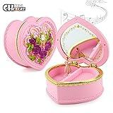 Ecosin Fashion Vintage Lovely Music Box Toy Dancing Ballerina Music Box Clockwork Musical Best Birthday Gifts For Girls