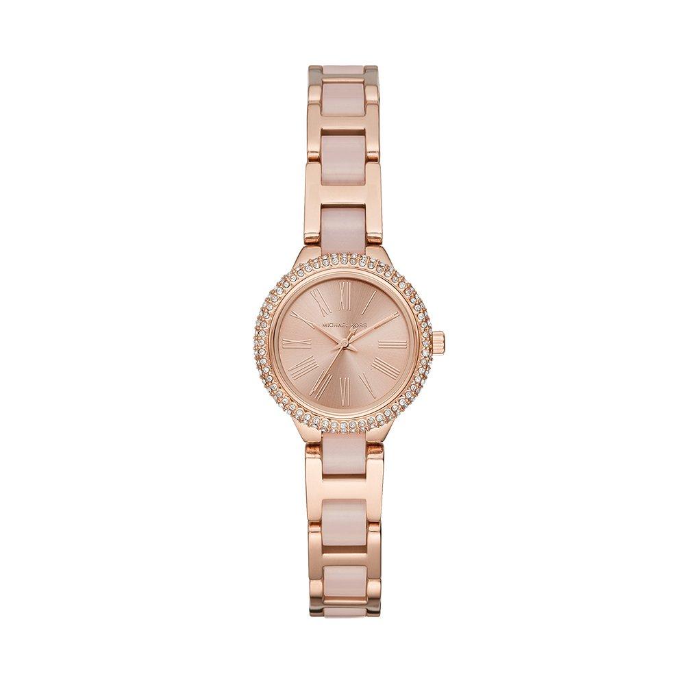 Michael Kors Women s Taryn Quartz Stainless-Steel Strap, Rose Gold, 16 Casual Watch Model MK6582