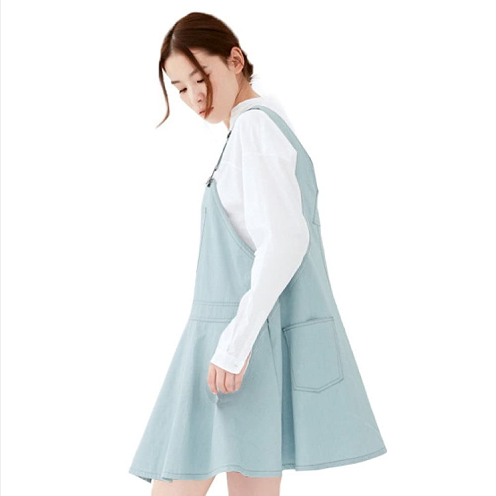INatural Anti-Radiation Maternity Clothes Top Baby Mom Protection Shield Denim Blue Dresses