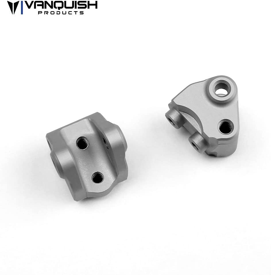 Vanquish VPS04467 SCX10-II Lower Link//Shock Mount Clear Anodized