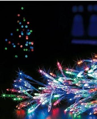 180 multi action reflector christmas lights indooroutdoor xmas decoration 3 col multi - Reflector Christmas Lights