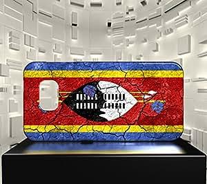 Funda Carcasa para Galaxy S6 Bandera SWASILANDIA 03