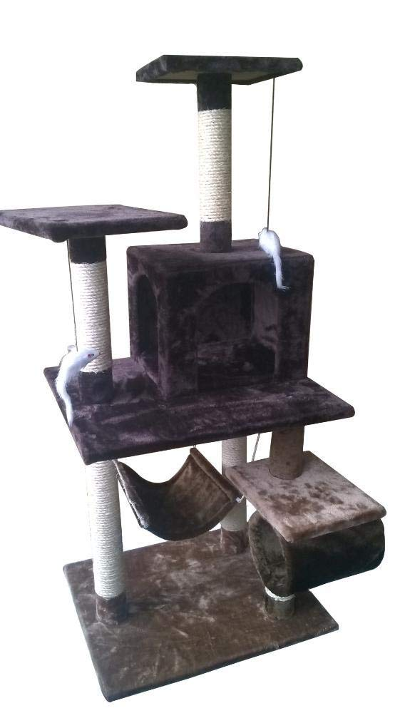Hexiansheng Cat Climb Trees Medium-sized modified cat Tree Haining Wei Guest Pet Supplies 58  48  136cm