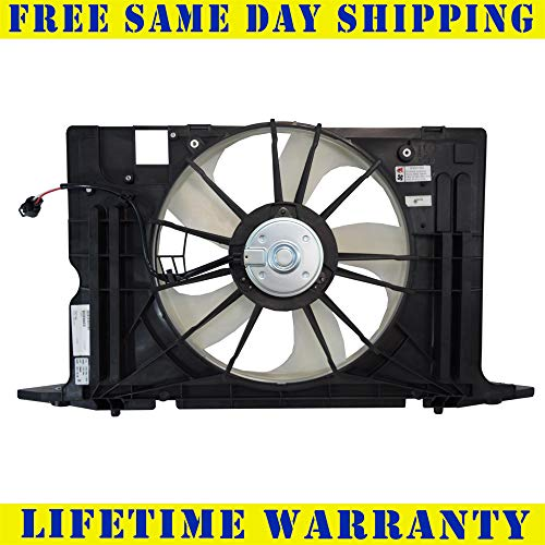(Radiator Cooling Fan Assembly For Scion Toyota Fits iM Corolla iM SC3115107)