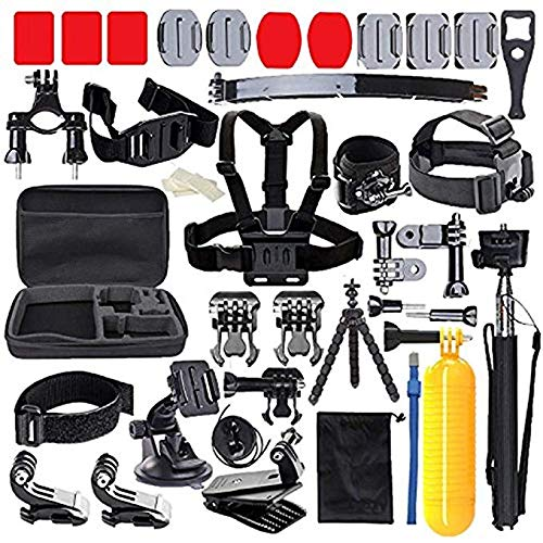 MRMASS 52-in-1 Accessories Kit for AKASO EK5000 EK7000 4K WiFi DJI OSMO Action Camera Gopro Hero 7 6 Hero 5