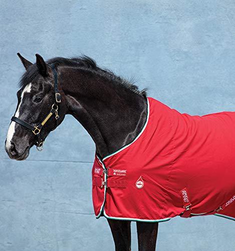 (Horseware Ireland Amigo Stable Sheet, Red/White/Green/Black, 81)