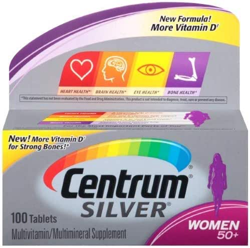 Centrum Silver Women 50+ Multivitamin/Multimineral (Pack of 2)